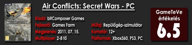 Air Conflict - Secret Wars