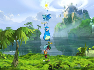 Rayman Origins (a kép nagyítható)