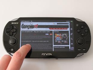 PlayStation Vita Bemutató (a kép nagyítható)