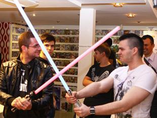 Kinect Star Wars Launch Party Gameshop Bemutató (a kép nagyítható)
