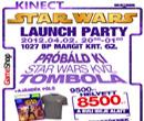 Kinect Star Wars Launch Party Gameshop - Az erő velünk van