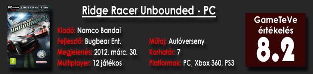 Ridge Racer - Unbounded PC