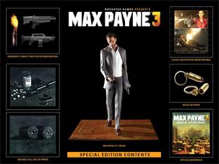 Max Payne 3 Special Edition (a kép nagyítható)