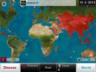 Plague Inc. HD (a kép nagyítható)