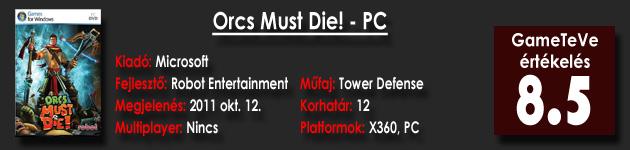 Orcs Must Die! HD