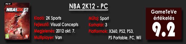 NBA 2K12 HD