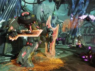 Transformers: Fall of Cybertron (a kép nagyítható)