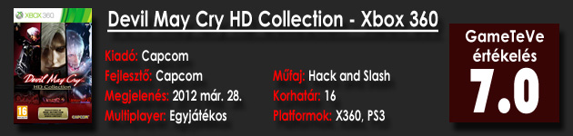 Devil May Cry HD Collection HD