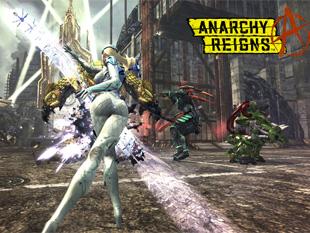Anarchy Reigns (a kép nagyítható)