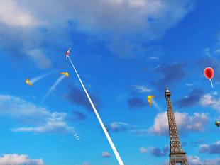 Kite Fight (a kép nagyítható)
