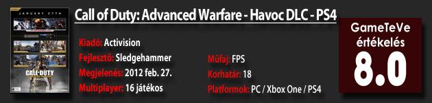 Call of Duty: Advanced Warfare - Havoc DLC